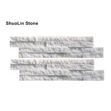 Thin Stone Cladding White Quartzite 40x10cm Price