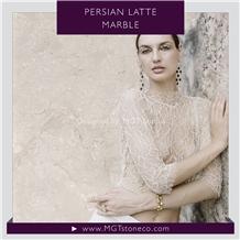 Persian Latte Marble Tiles & Slabs