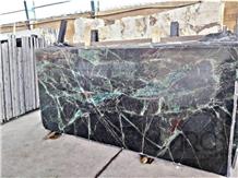 Amazing Green Marble Slabs