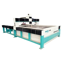 Stone Cnc Cutting Machine Water Jet Cutting System 2000*4000mm