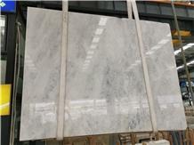 Bianco Vena Iris White Marble Slabs Statuario