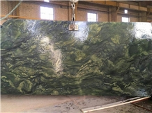 Green Birjand Granite Tile & Slab