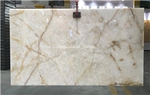 Bianco Cristallo Quartzite White Princess