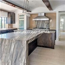Sequoia Brown Quartzite Countertops