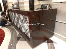 Shimoga Red Granite Iron Red Bench Tops Countertop