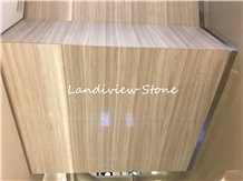 Snowsicle Marble Lefkon Striped Greek White Wood