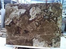 Coffee Jade Marble Brown Building Slabs Wall Tiles