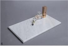 Natural Marble Storage Panels Crafts Bathroom Set