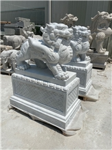 Stand by Mythi Animal Statues Landscape Sculpture