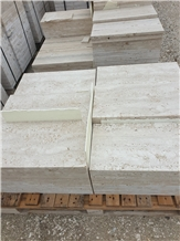 Travertino Romano Classico Tiles, Travertino Romano Classico Chiaro
