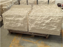 Beige Limestone Mushroom Cladding Tiles