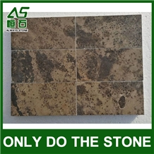 King Gold Brown Marble Tile/Slab(Direct Factory)