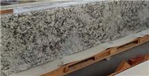 Blue Ice Granite Countertop Grey Salt Flower Top