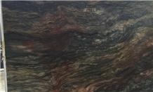 Fusion Quartzite Black Brown Red Quartzite Slabs