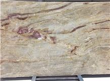 Nacarado Yellow Quartzite Gold Quartzite Brazil Slabs