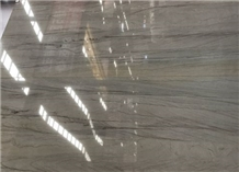 Piano Grey Quartize Slabs Polished Surface