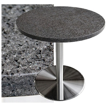 Custom Marble and Quartz Top Coffee Table