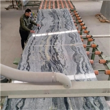Polished Oriental Wave Marble Slabs