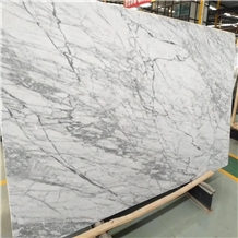 Polished Statuario Vigaria Marble Slabs