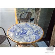 Bolivia Blue Marble Table Top