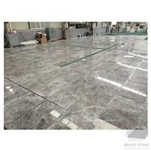 Hermes Grey Marble Slabs Tiles