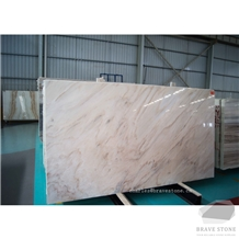 Palissandro White Chiaro Binaco Marble Slab