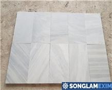 Cloudy Vein Grey Marble Pool Tiles