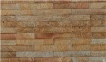 Yellow Travertine Split Face Natural Stone Veneer,Cultured Stone