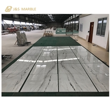 China Export Lincoln White Marble Tile