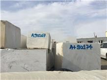 Altai White Marble Block, Mongolia White Marble
