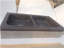 Blue Limestone Natural Rectangular Sinks and Basin