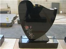 Hungary Style Granite Monument Tombstone Headstone