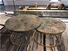 Amazon Green Marble Table Top