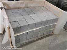 G654 Grey Cube Stone Pavers