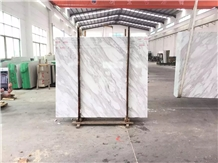 Volakas White Marble Slab