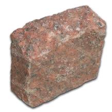 Vietnam Red Granite Cobbles with Natural Split