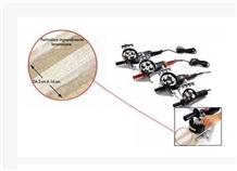 Hand-Operated Rotative Bushammering Machine