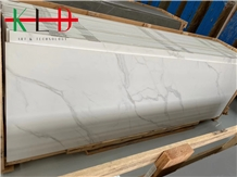 China Calacatta White Sintered Stone Slabs