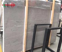 China Silver Grey Dragon Marble Slabs Floor Tiles