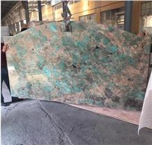 Amazon Green Granite Luxury Stone Quartzite Slab