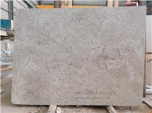 Beige Marble Tundra Grey Slab Flooring Tile