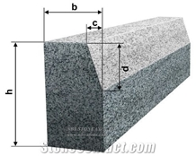 Cheap Grey Granite Kerbstone G603. G341 G383 Curb