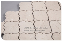 Cream Marfil Natural Marble Kitchen Stone Mosaic