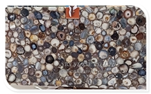 Grey Semiprecious Stone for Countertop Large Agate