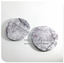 Marble Tableware Tea Coffee Cup Coaster Dish Plat