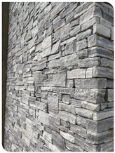 Natural Blue Color Stone Wall Stone Panel Loose