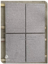 Padang Dark Grey G654 Granite Tile,Flamed G654