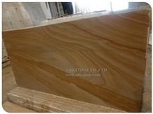 Quarry-Owner Supply Wooden Yellow Sandstone Slab
