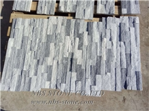 Split White Natural Stacked Ledge Culture Stone
