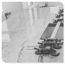 Statuario White Marble for Counter Top New Slab